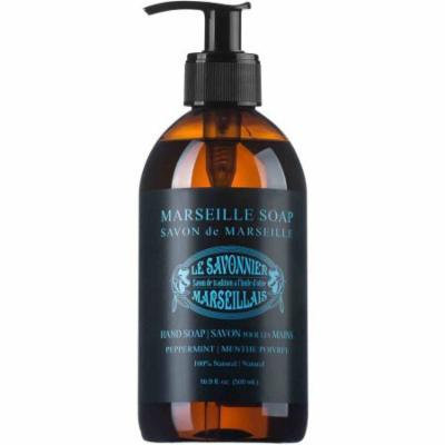 Le Savonnier Marseillais Peppermint Liquid Hand Soap, 16.9 fl oz