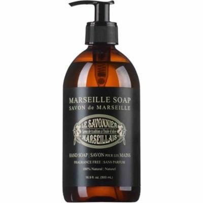 Le Savonnier Marseillais Liquid Hand Soap, 16.9 fl oz