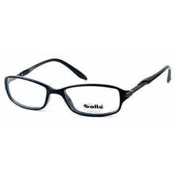 Bolle Optics Designer Eyeglasses Elysee 70133 in Shiny Black 52MM ; DEMO LENS