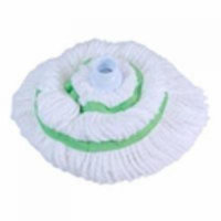 Microfiber Twist Mop Refill QUICKIE MANUFACTURING Wet Mops 0352M-3/12 White