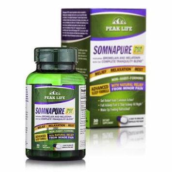 Somnapure PM (Advanced Sleep Formula) - 30 Capsules by Peak Life