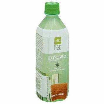 ALO Pulp Free Exposed Original Honey Aloe Vera Juice, 16.9 fl oz, (Pack of 12)