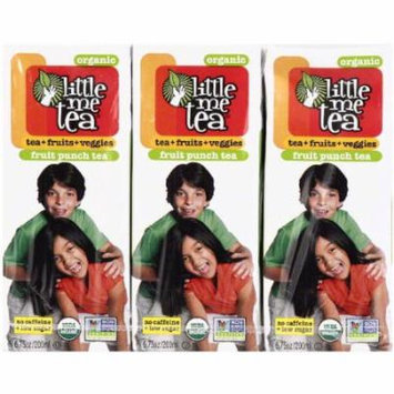 Little Me Tea Organic Fruit Punch Tea, 6.75 oz, 3 count, (Pack of 10)