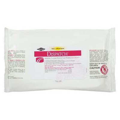 Dispatch Cleaner Disinfectant Towels With Bleach 40/Pack