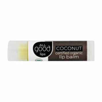 Elemental Herbs - All Good Lips Organic Lip Balm Coconut - 4.25 Grams