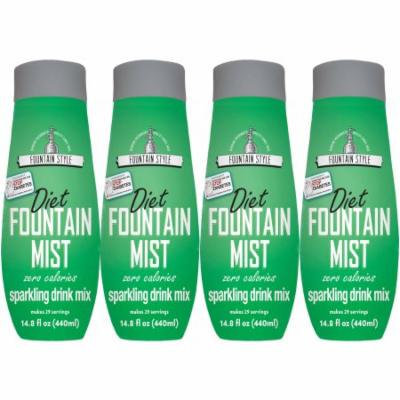 SodaStream Fountain Style Diet Fountain Mist Sparkling Drink Mix, 440mL