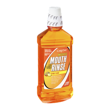 CareOne Antiseptic Citrus Flavor Mouth Rinse