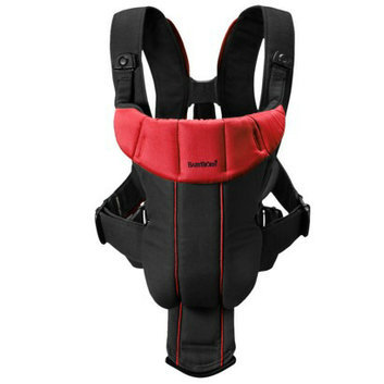 Baby Bjorn BABYBJ?RN Active Baby Carrier - Black/ Red