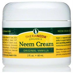 Organix South Inc Theraneem Leaf & Oil Cream Vanilla