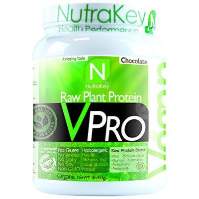 NutraKey VPRO Raw Plant Protein Chocolate 1 lb