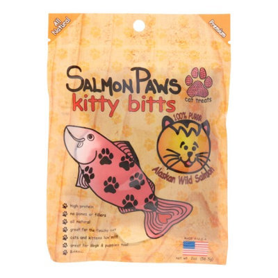 Salmon Paws Kitty Bits Cat Treat