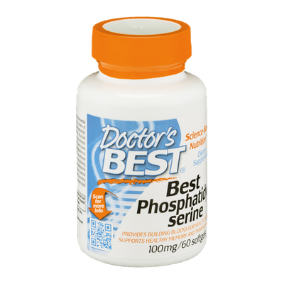 Doctor's BEST Best Phosphatidyl Serine 100mg Softgels - 60 CT