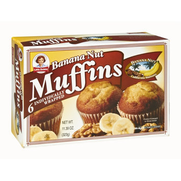 Little Debbie Banana Nut Muffins - 6 CT