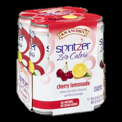 R.W. Knudsen Spritzer Zero Calorie Cherry Lemonade  - 4 CT