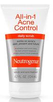 Neutrogena® All-in-1 Acne Control Daily Scrub