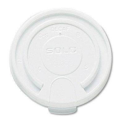 SOLO Cup Company LB3161 Hot Cup Lids- 16 oz- White- 1000/Carton