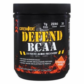 Grenade - Defend BCAA Strawberry Mango 30 Servings - 434 Grams