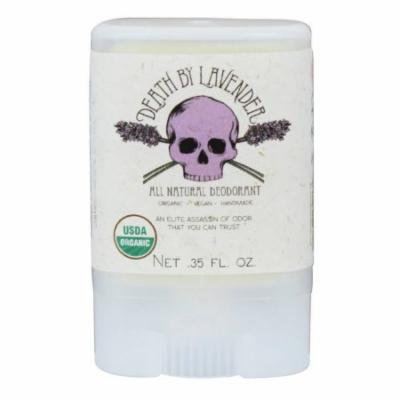 North Coast Organics - All Natural Deodorant Travel Size Death by Lavender - 0.35 oz.
