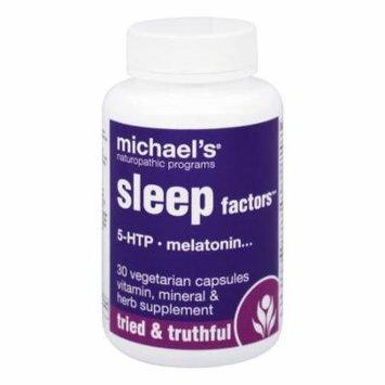 Michael's Naturopathic Programs - Sleep Factors - 30 Vegetarian Capsules
