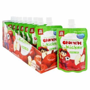 Korean Ginseng - i-Kicker Children's Liquid Herbal Supplement Apple - 10 Pouches