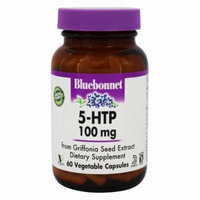 Bluebonnet Nutrition - 5-HTP 100 mg. - 60 Vegetable Capsule(s)