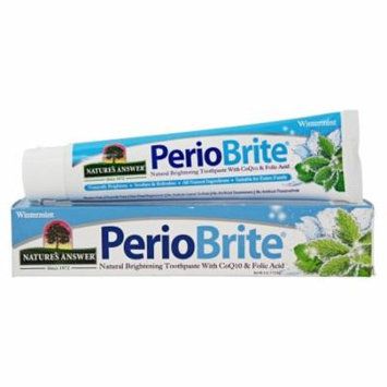 Nature's Answer - PerioBrite Natural Toothpaste Wintermint - 4 oz.