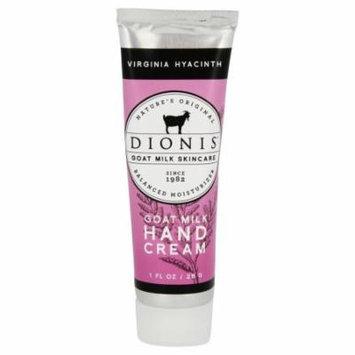 Dionis Goat Milk Skincare - Hand Cream Virginia Hyacinth - 1 oz.