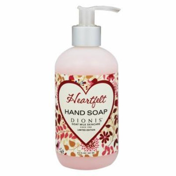 Dionis Goat Milk Skincare - Liquid Hand Soap Heartfelt - 8.5 oz. Limited Edition