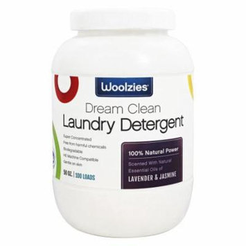Woolzies - 100% Natural Powder Laundry Detergent Lavender and Jasmine - 50 oz.