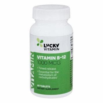 LuckyVitamin - Vitamin B-12 Timed Release 1000 mcg. - 60 Tablets