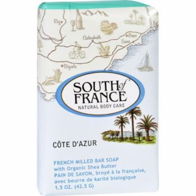 South of France Bar Soap - Cote dAzur - Travel - 1.5 oz - Case of 12