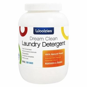 Woolzies - Dream Clean Laundry Detergent 100 Loads Mandarin and Orange - 50 oz.