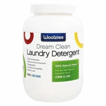 Woolzies - 100% Natural Powder Laundry Detergent Lemon and Lime - 50 oz.