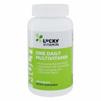 LuckyVitamin - One Daily Multivitamin - 300 Tablets