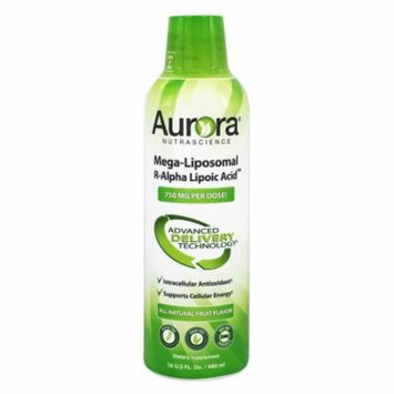 Vida Lifescience - Aurora Nutrascience Mega-Liposomal R-Alpha Lipoic Acid - 16 oz.