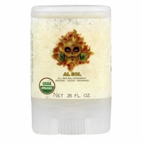 North Coast Organics - All Natural Deodorant Travel Size Al Sol - 0.35 oz.