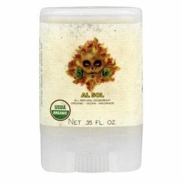 North Coast Organics - All Natural Deodorant Travel Size Al Sol - 0.35 oz.