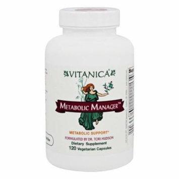 Vitanica - Metabolic Manager - 120 Vegetarian Capsules