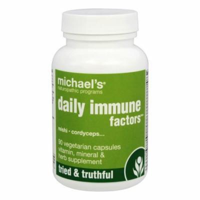Michael's Naturopathic Programs - Daily Immune Factors - 90 Vegetarian Caplet(s)
