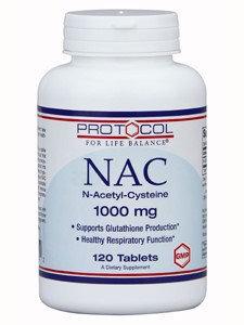 Protocol For Life Balance NAC 1,000mg 120 tabs