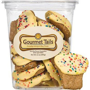Gourmet Tails Vanilla Cupcakes with Sprinkles Dog Treats