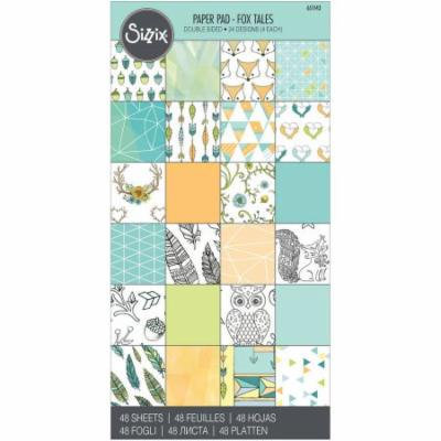 Sizzix Double-Sided Cardstock Pad, 6