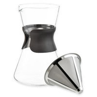 Grosche Portland Pour Over Coffee Maker with Ultra Mesh filter-BROWN-One Size