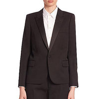 Saint Laurent Grain De Poudre Jacket