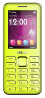 Sierra Accessories BLU Diva II T275T Unlocked GSM Dual-SIM Cell Phone w/ Analog TV - Yellow