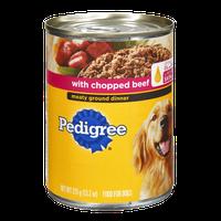 Pedigree® Chopped Beef Meaty Ground Dinner Dog Food
