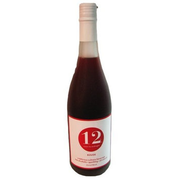 12 Beverage 12 Noon To Midnight Rouge Sparkling Beverage 25.4 oz