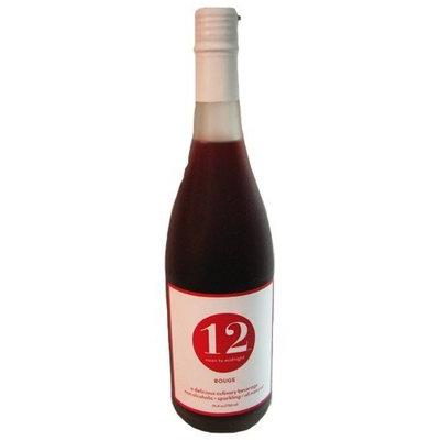 12 Beverage 12 Noon To Midnight Rouge Sparkling Beverage 25.4 oz