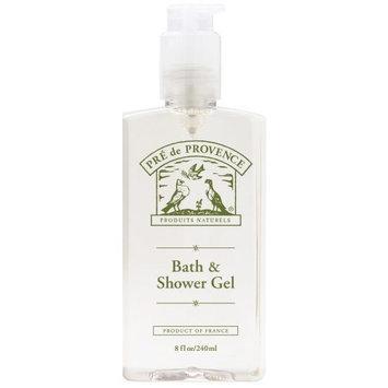 Pre de Provence Bath And Shower Gel, Milk, 8 -Ounce Bottle