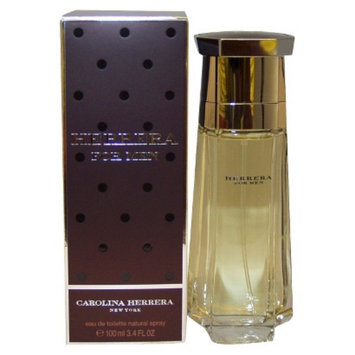 Men's Herrera by Carolina Herrera Eau de Toilette Spray - 3.4 oz